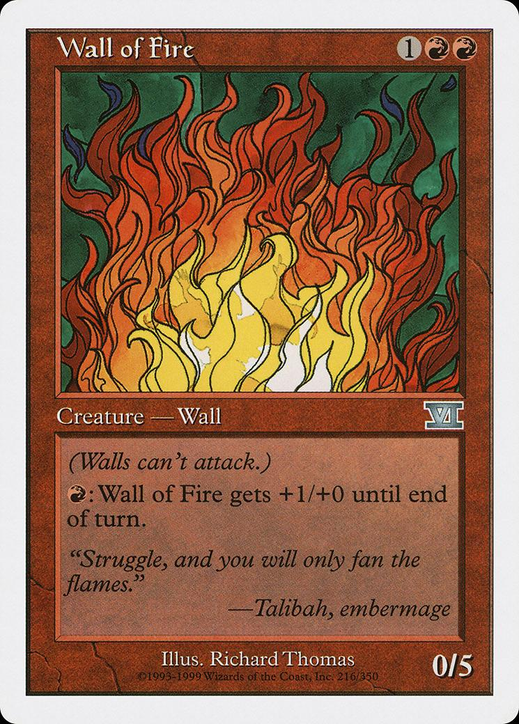 Wall of Fire [6ED]