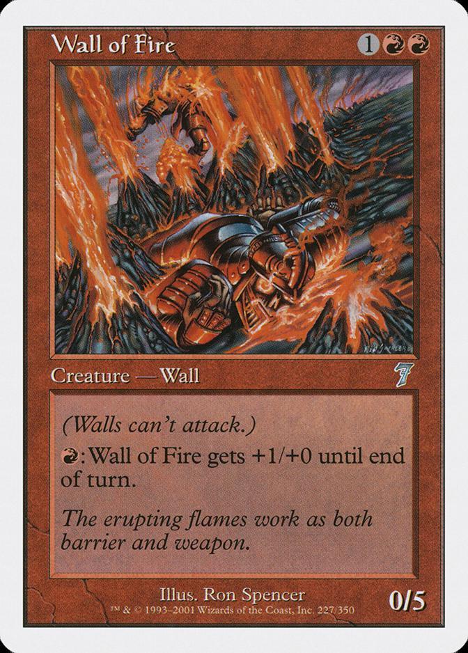 Wall of Fire [7E]
