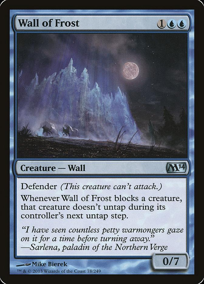 Wall of Frost [M14] (F)