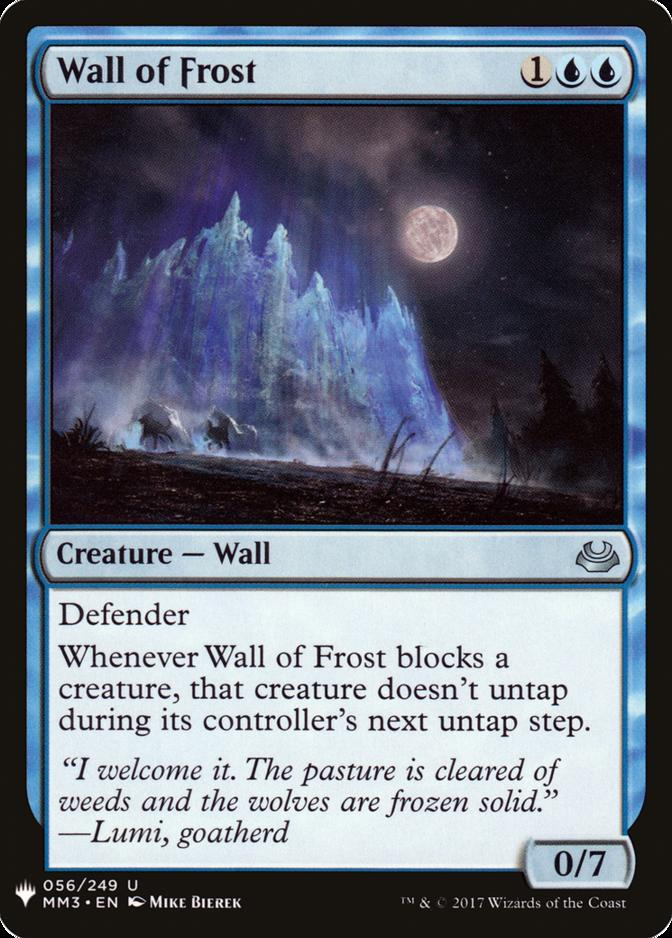 Wall of Frost [MB1]