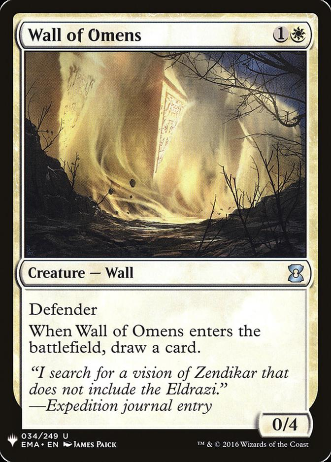 Wall of Omens [MB1]