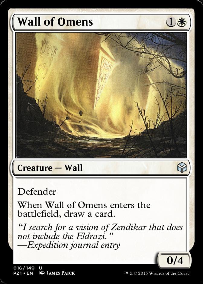 Wall of Omens [PZ1] (F)