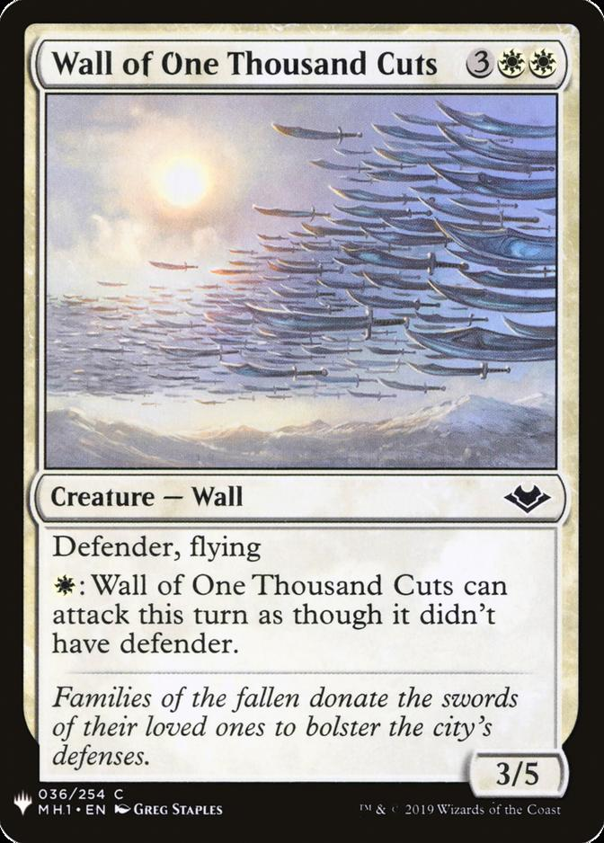 Wall of One Thousand Cuts [MB1]