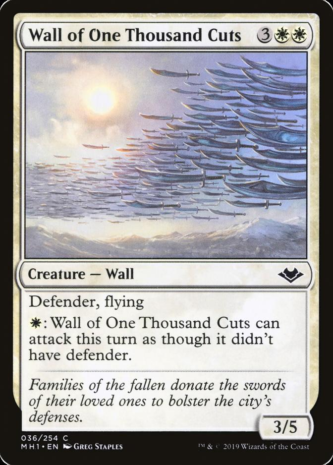 Wall of One Thousand Cuts [MH1]