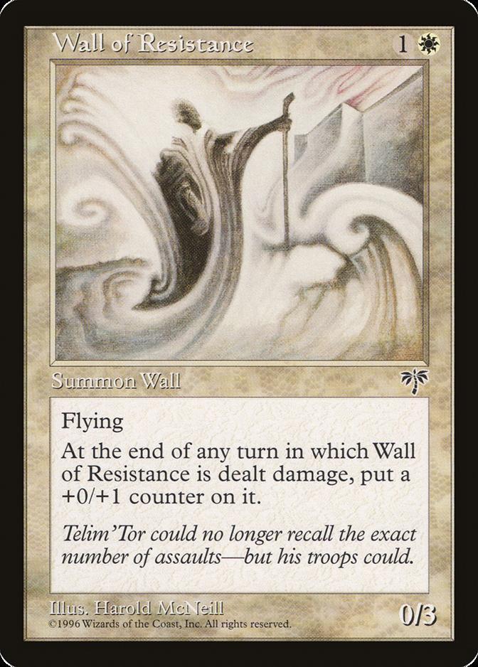 Wall of Resistance [MI]