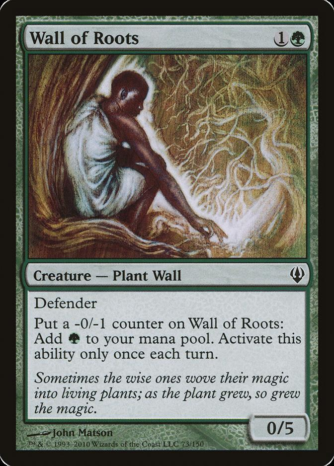 Wall of Roots [ARC]