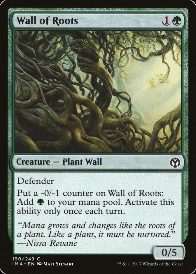 Wall of Roots [IMA]