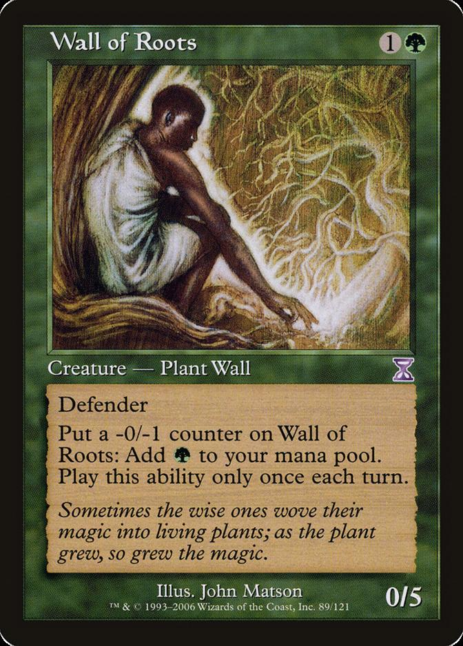 Wall of Roots [TSB] (F)
