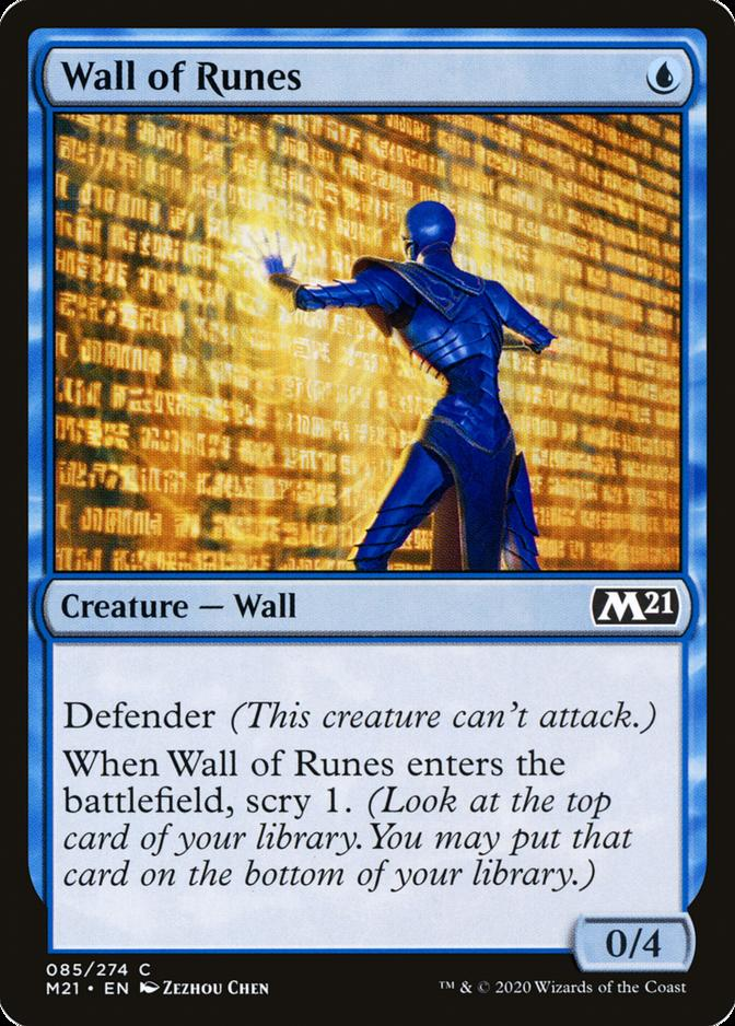 Wall of Runes [M21]