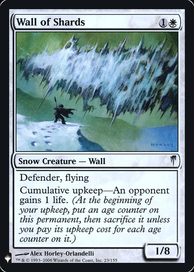 Wall of Shards [FMB1] (F)