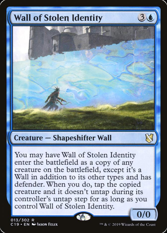 Wall of Stolen Identity [C19]