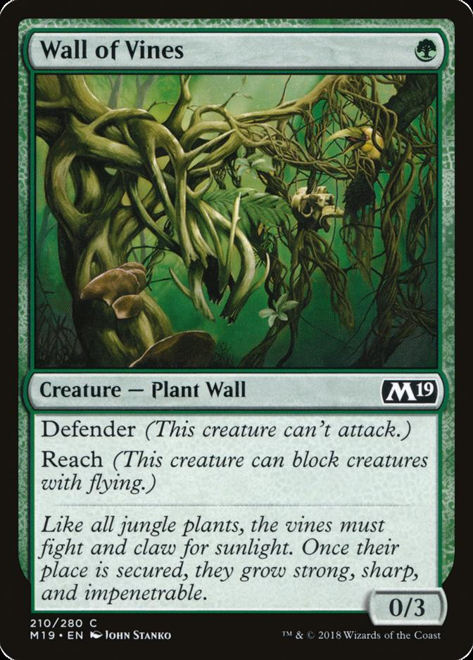 Wall of Vines [M19]