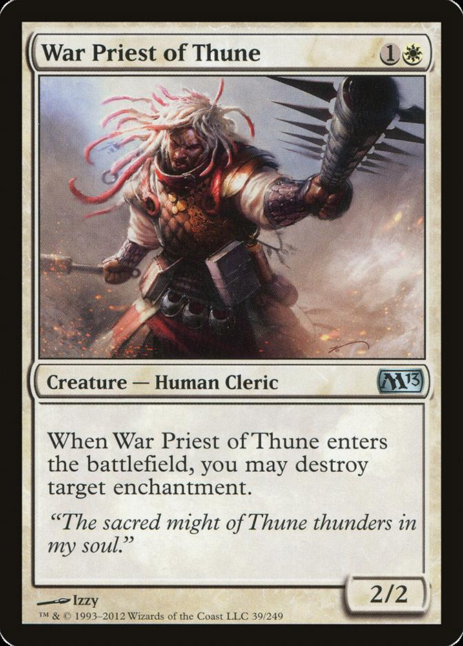 War Priest of Thune [M13] (F)