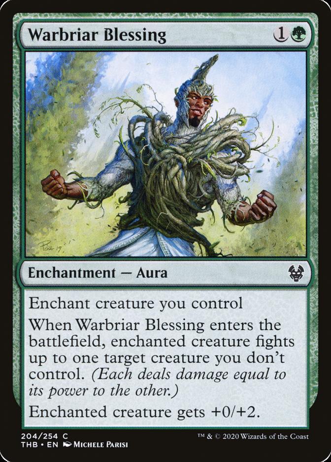 Warbriar Blessing [THB]