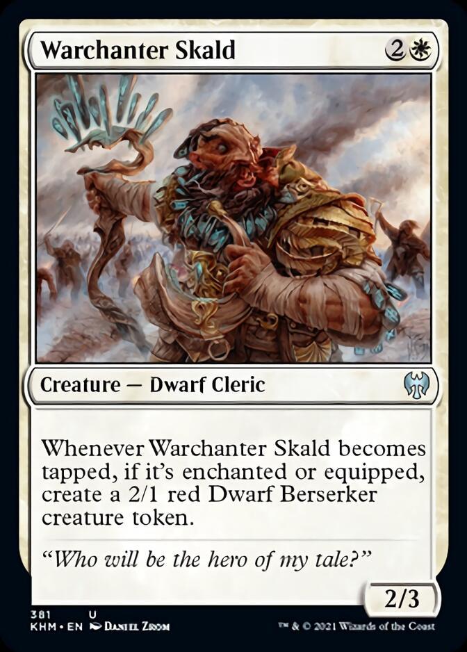 Warchanter Skald [KHM]