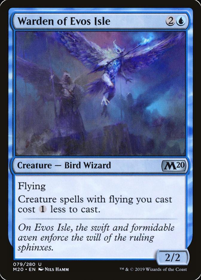 Warden of Evos Isle [M20]