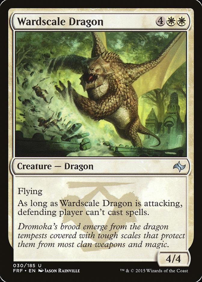 Wardscale Dragon [FRF]