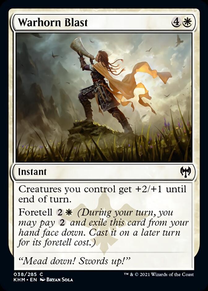 Warhorn Blast [KHM]