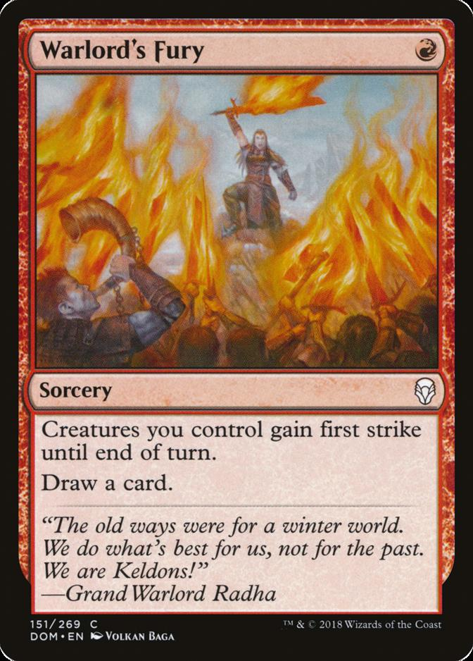 Warlord's Fury [DOM]
