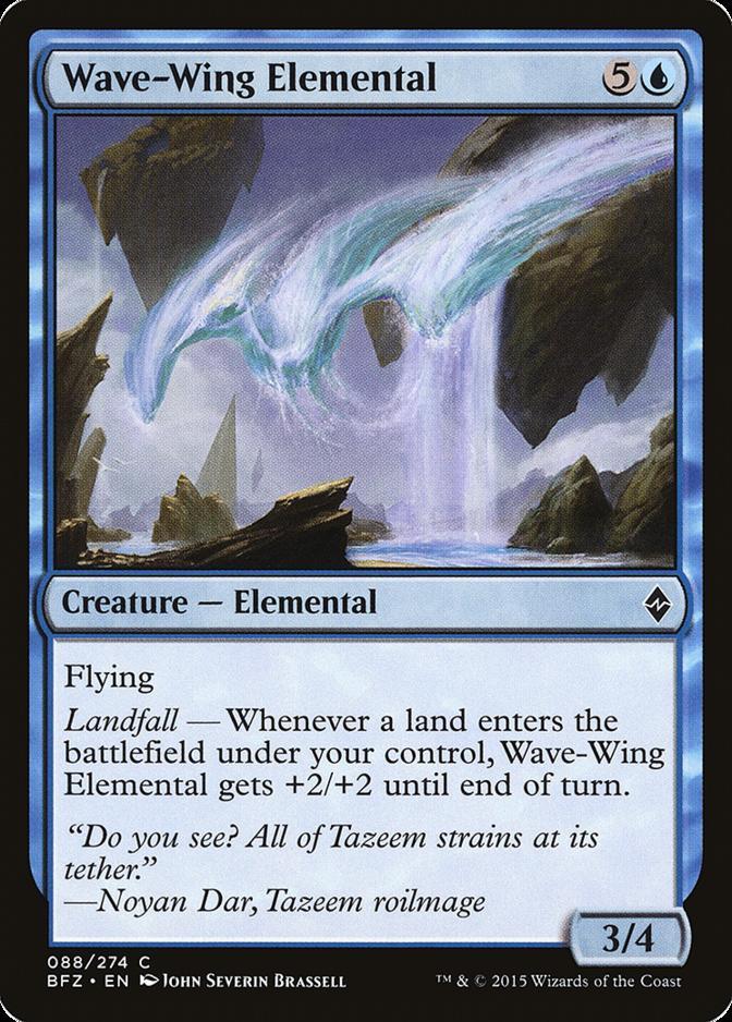 Wave-Wing Elemental [BFZ]