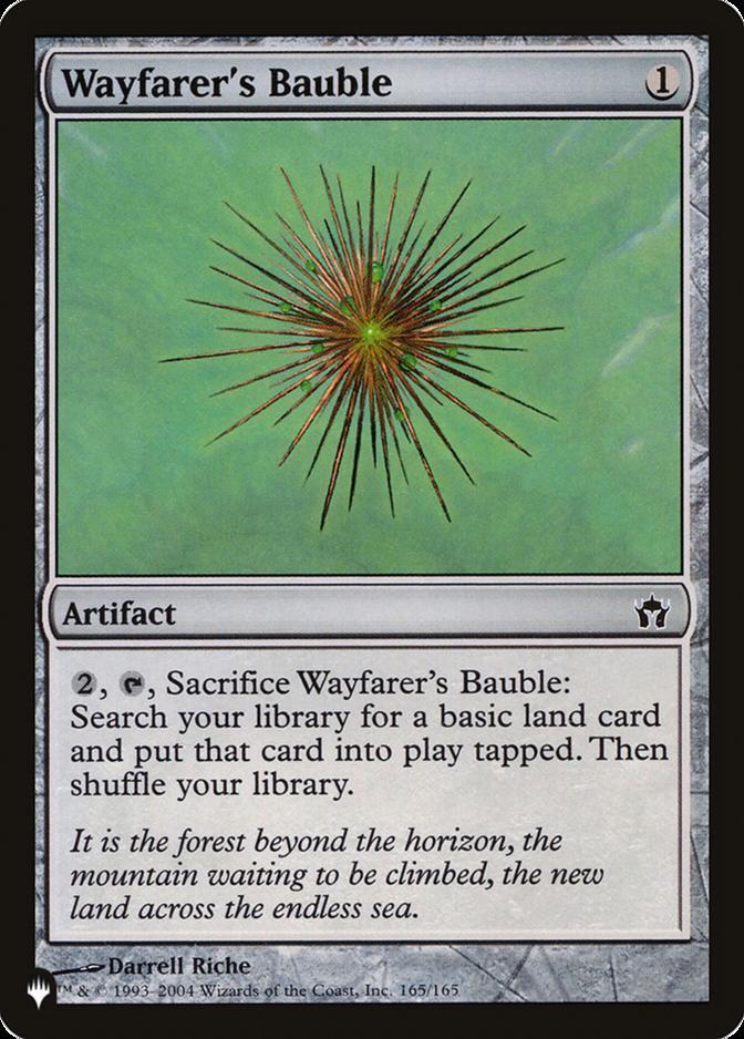 Wayfarer's Bauble [PLIST]