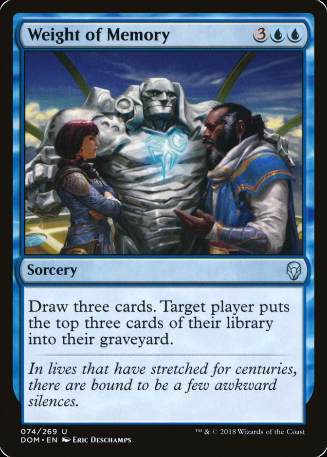 Weight of Memory [DOM]