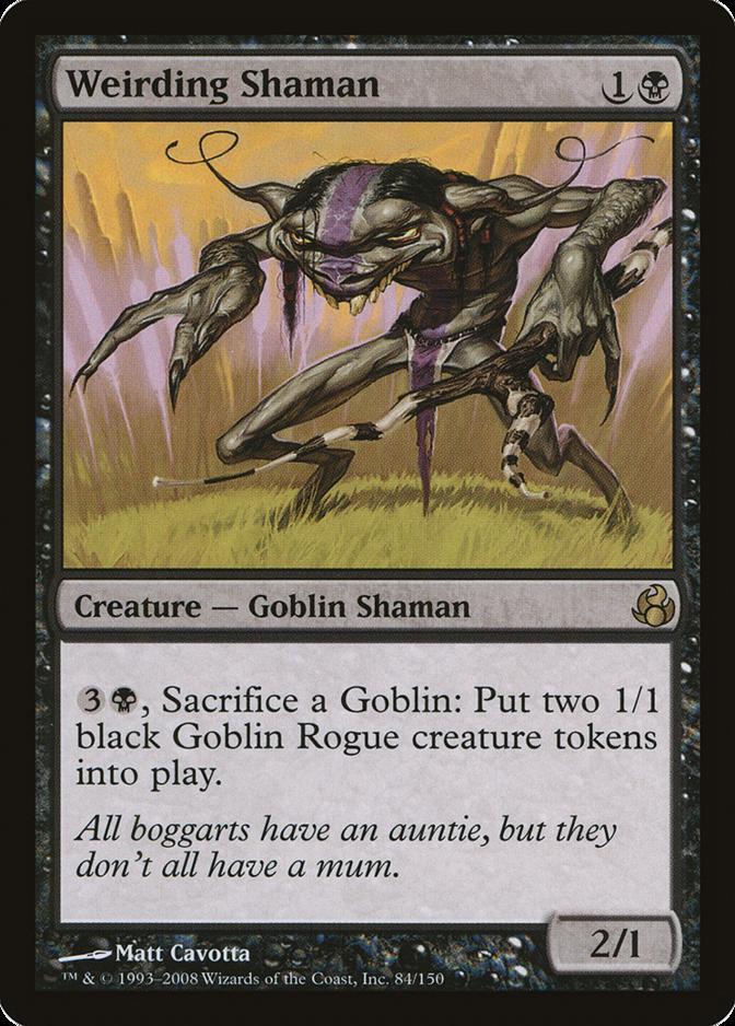 Weirding Shaman [MOR]