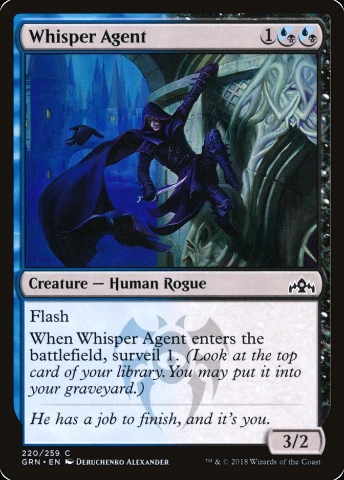 Whisper Agent [GRN]