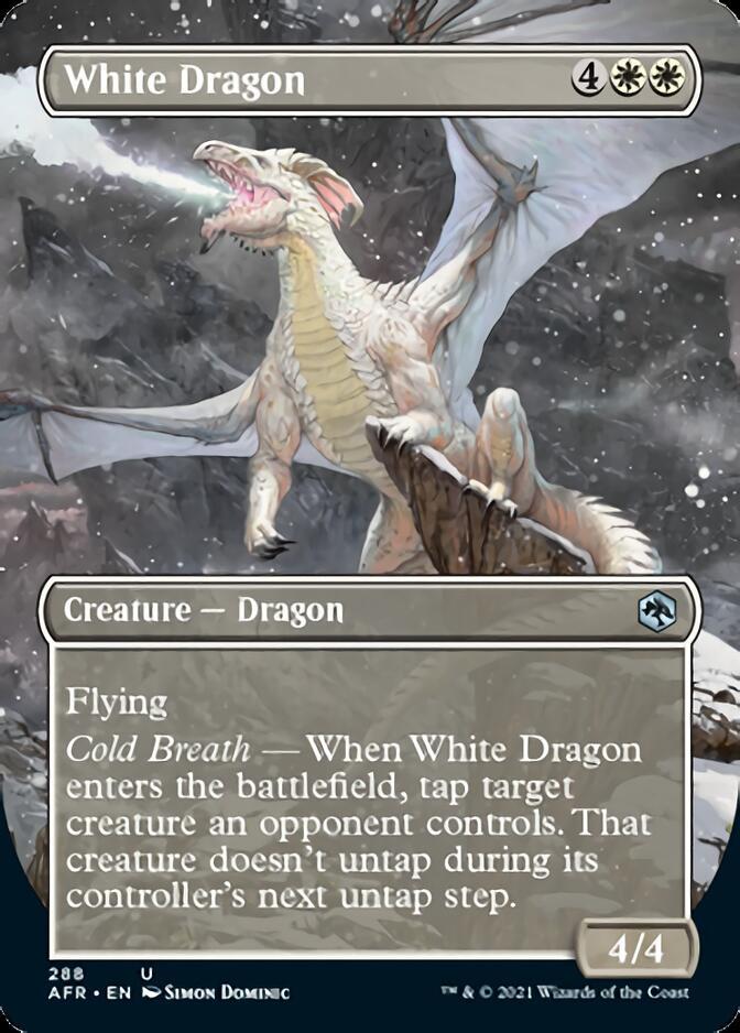 White Dragon <borderless> [AFR]