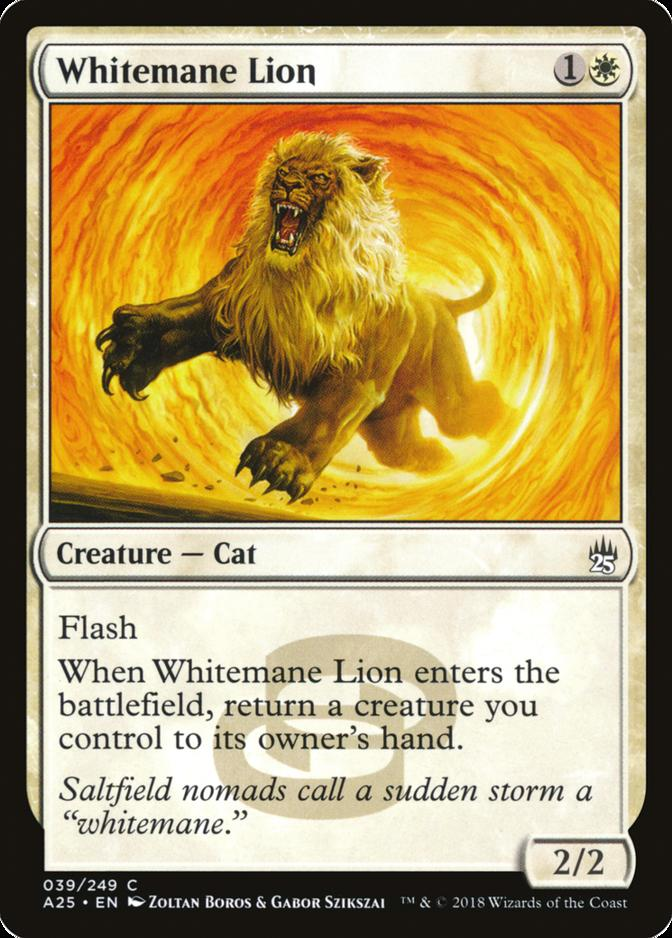 Whitemane Lion [A25]