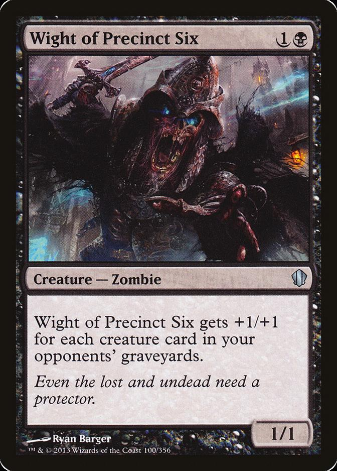 Wight of Precinct Six [C13] (F)