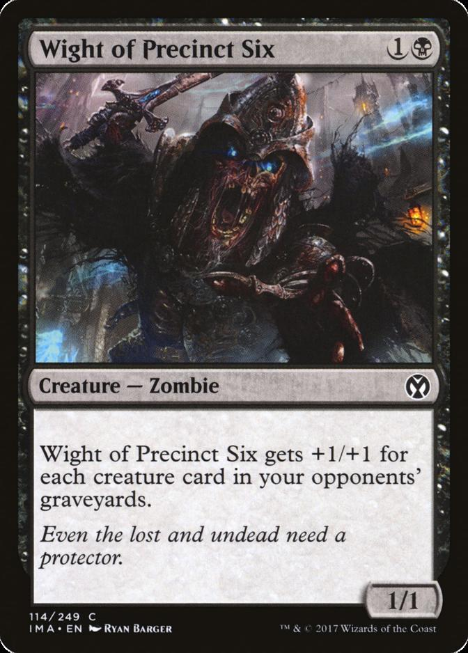 Wight of Precinct Six [IMA] (F)