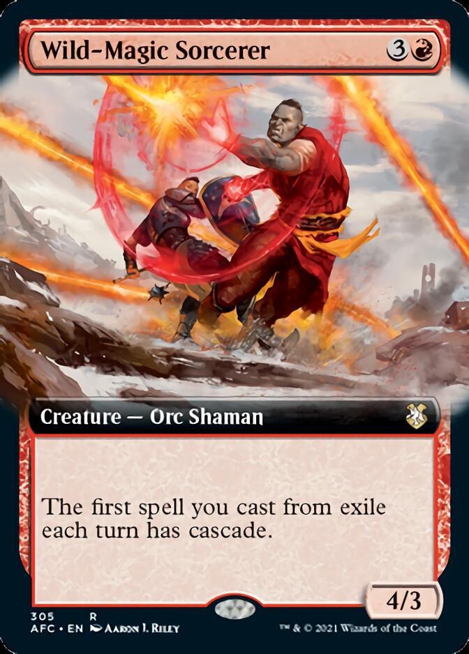 Wild-Magic Sorcerer <extended> [AFC]