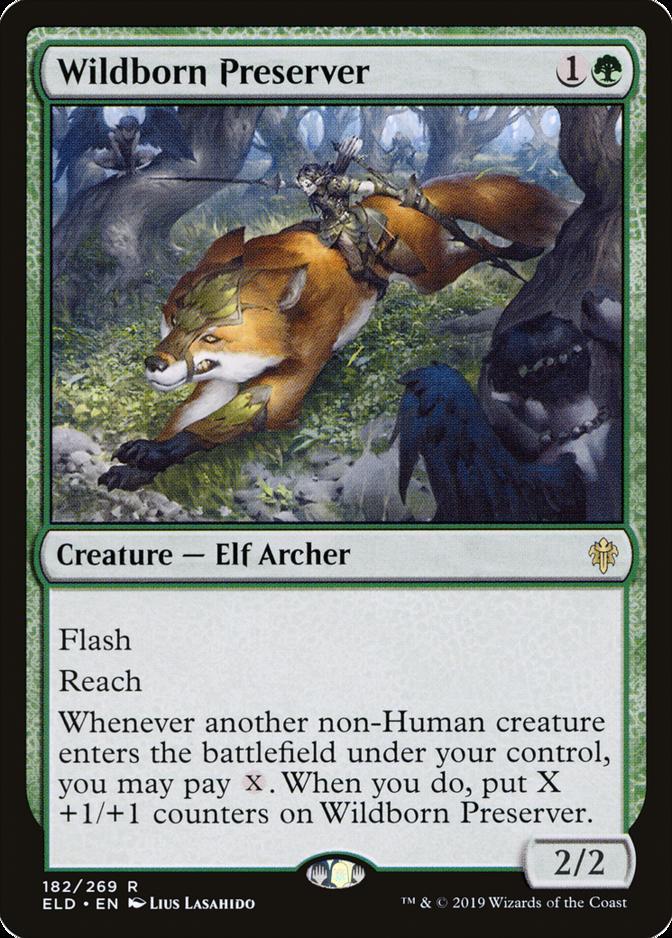 Wildborn Preserver [ELD]