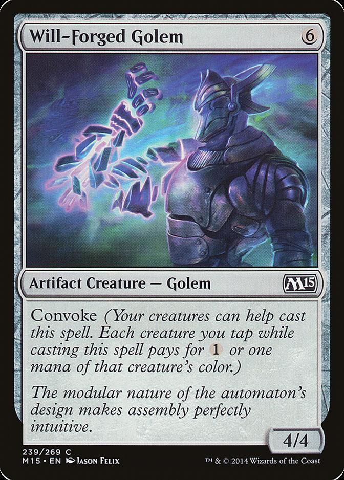 Will-Forged Golem [M15]