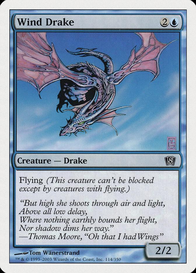 Wind Drake [8ED] (F)
