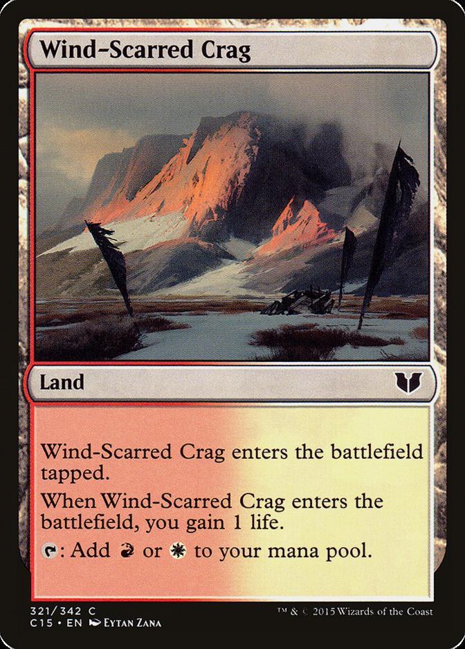 Wind-Scarred Crag [C15]