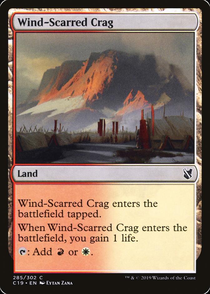 Wind-Scarred Crag [C19]