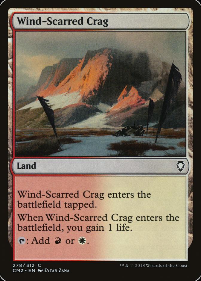 Wind-Scarred Crag [CM2]