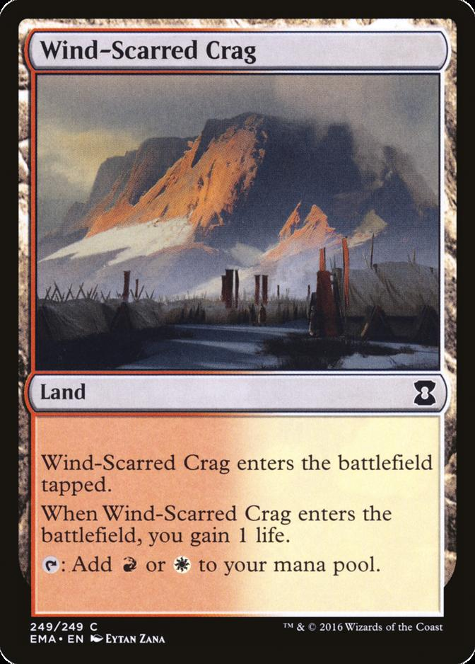 Wind-Scarred Crag [EMA] (F)