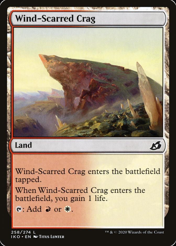 Wind-Scarred Crag [IKO]