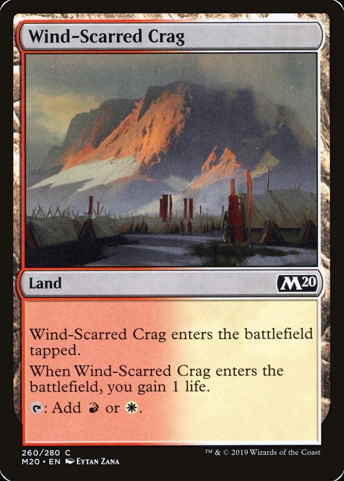 Wind-Scarred Crag [M20] (F)