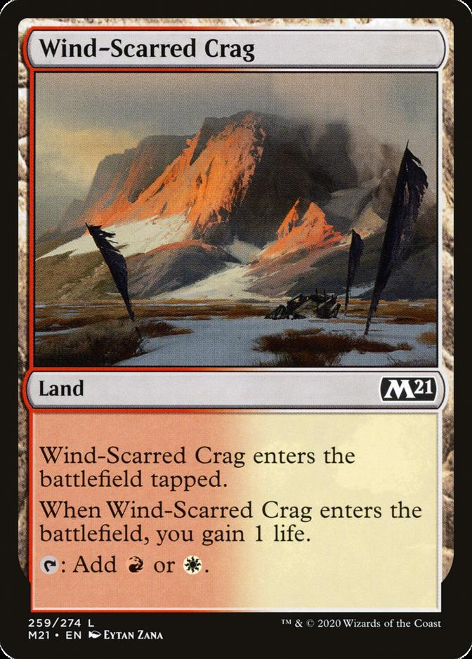 Wind-Scarred Crag [M21]