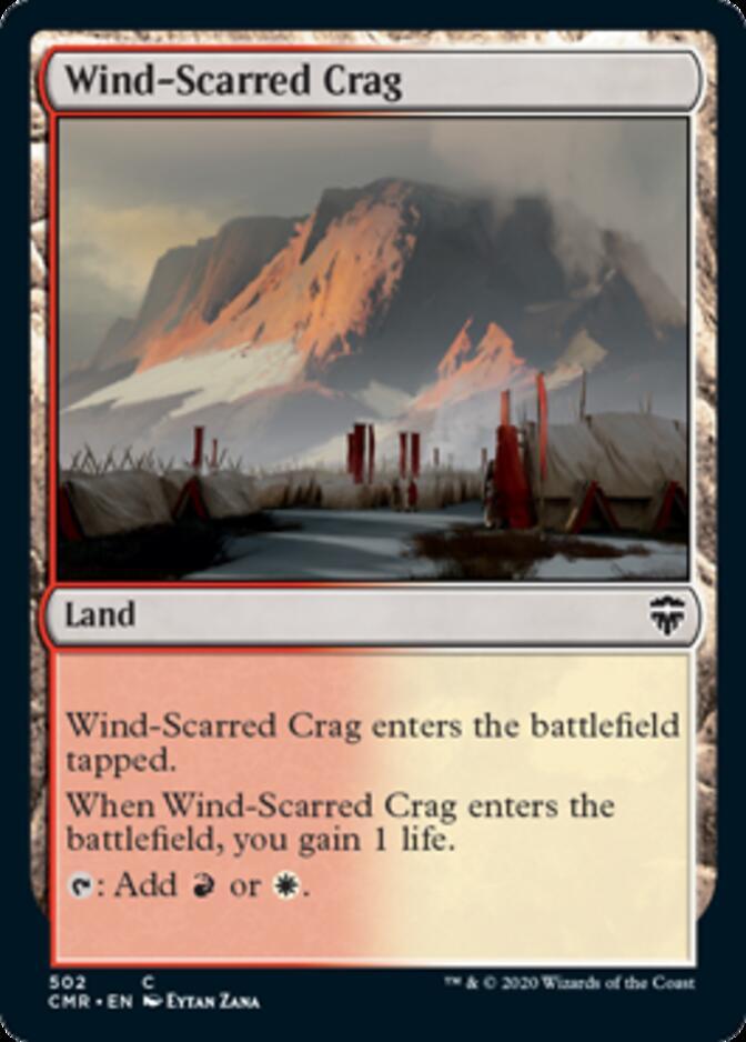 Wind-Scarred Crag <precon> [CMR]