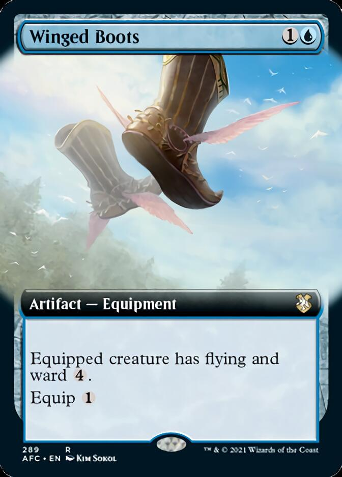 Winged Boots <extended> [AFC]
