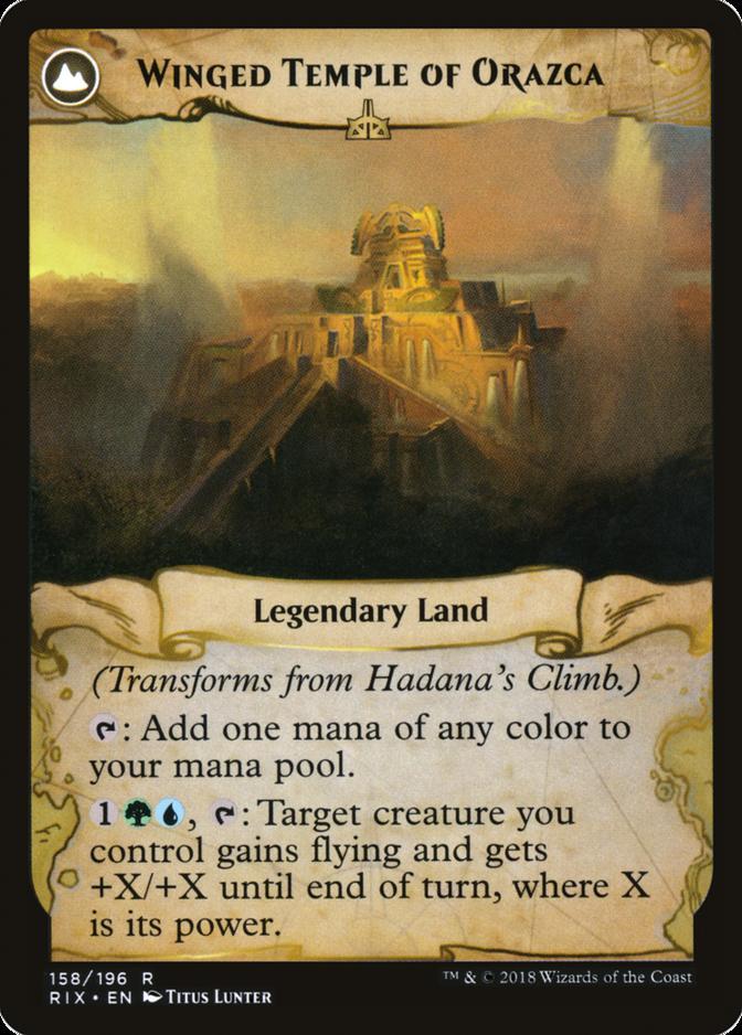 Winged Temple of Orazca [RIX]