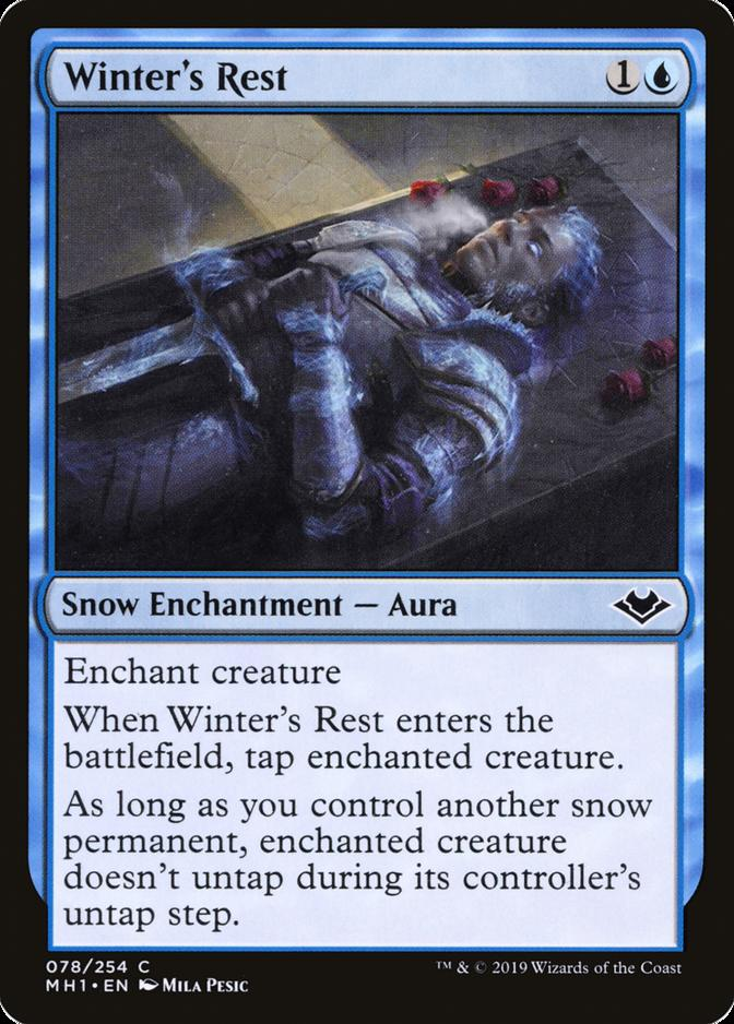 Winter's Rest [MH1]