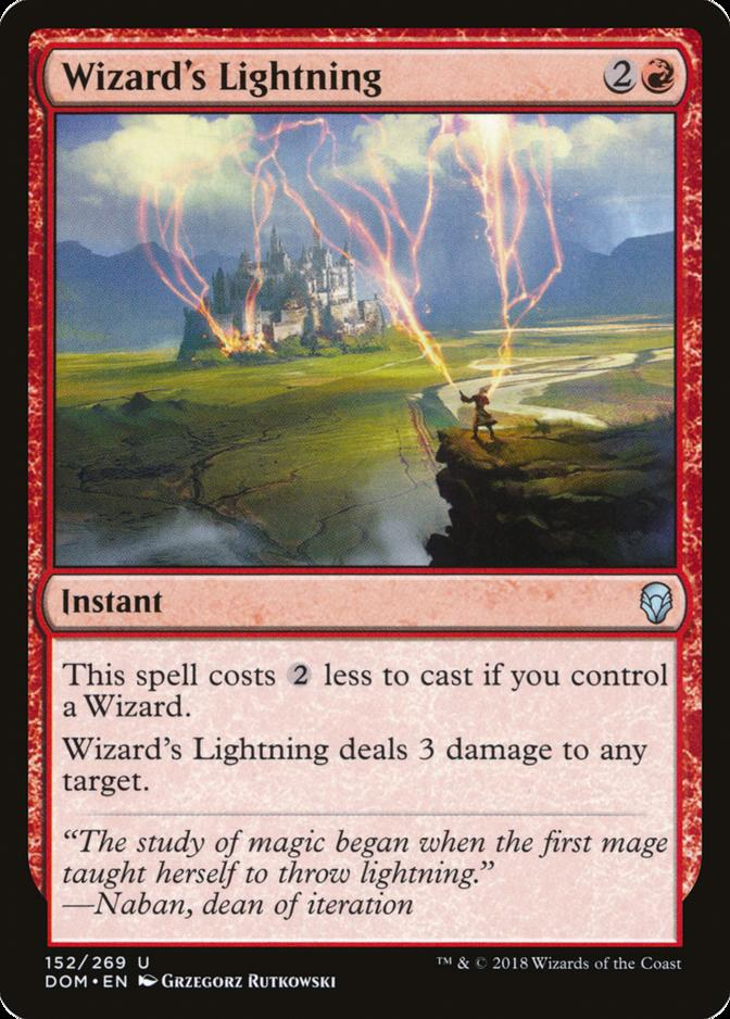 Wizard's Lightning [DOM]