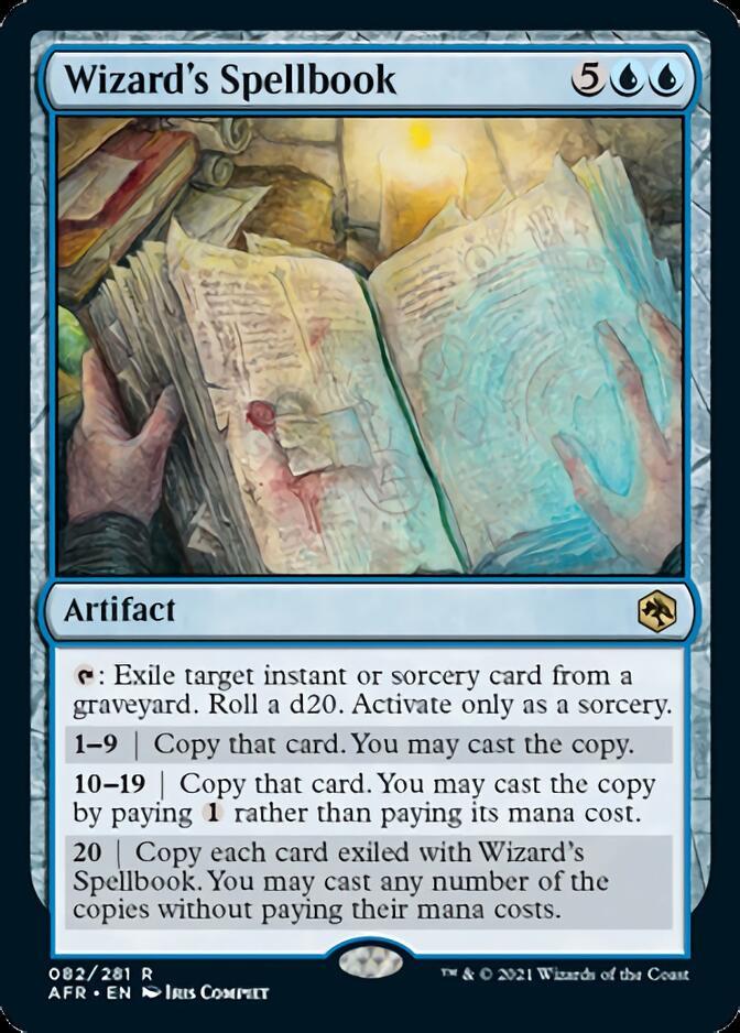 Wizard's Spellbook [AFR]