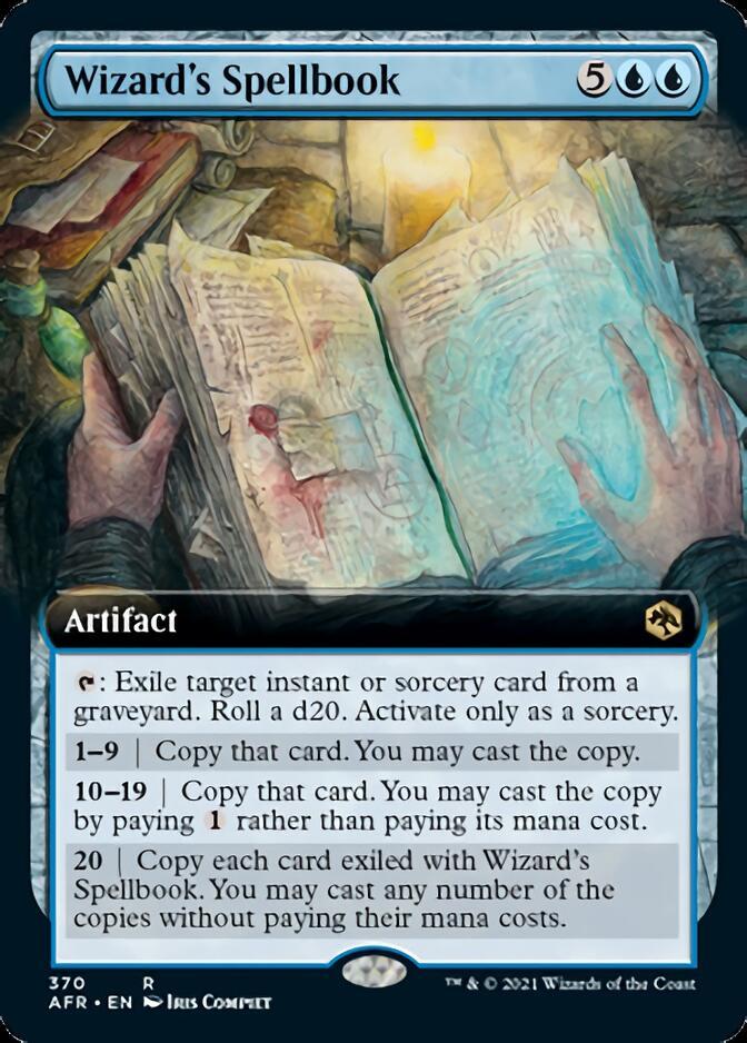 Wizard's Spellbook <extended> [AFR]